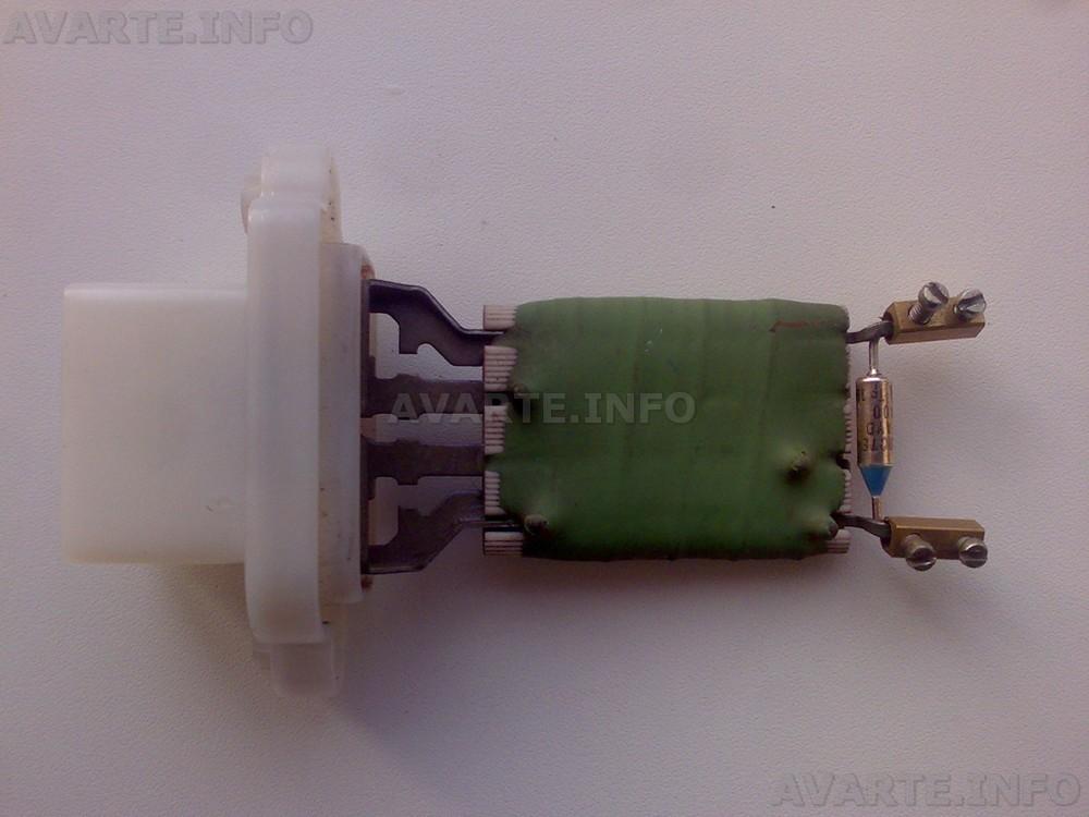 где блок резисторов форд фокус 1