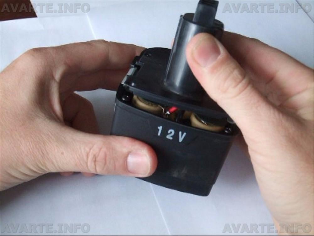 Аккумулятор шуруповерта ремонт своими руками видео