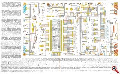 схема электрическая принципиальная ваз 2115